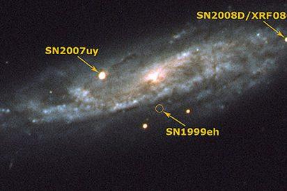 Así nace una supernova
