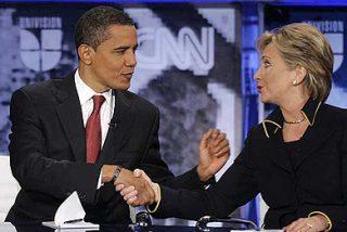 Obama-Hillary, la opción favorita de la mayoría de los votantes demócratas