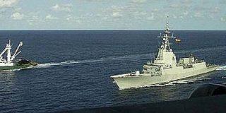 El bochorno de los militares españoles por la claudicación ante los piratas