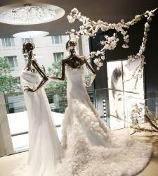 El diseño español en los vestidos de novia triunfa en Nueva York