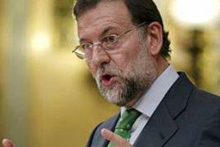 """Rajoy: """"Pondré todo de mi parte para que los españoles nos vean juntos, a usted y a mí, en la derrota de ETA"""""""