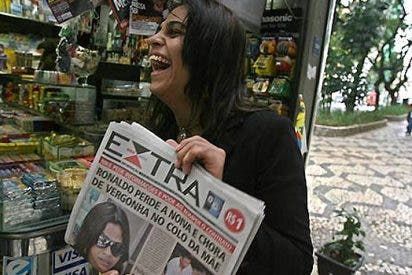 "Albertino: ""Ronaldo sabía que yo no era la Cicarelli"""