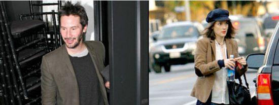 Winona Ryder y Keanu Reeves, ¿más que amigos?