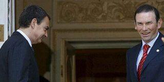 """Ibarretxe: """"Es curioso, el propio ZP había negociado con ETA y Batasuna la celebración de una consulta"""""""