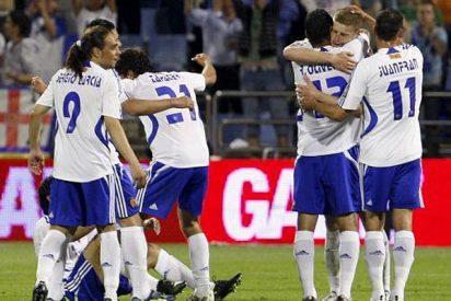 El Zaragoza salva el descenso en el último segundo