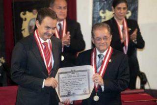 La Universidad Nacional San Marcos honró a Rodríguez Zapatero