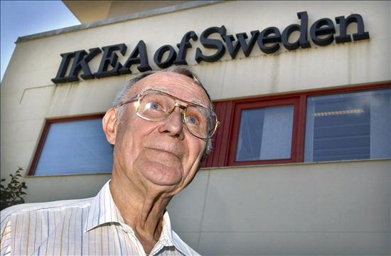 El dueño de Ikea es el tipo más rico de Europa