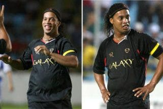 """A Ronaldinho le llaman """"gordinho"""""""