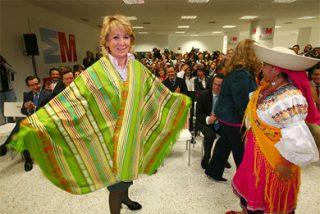 Esperanza Aguirre congelará su sueldo, el de todo sus altos cargos y el de todo su equipo