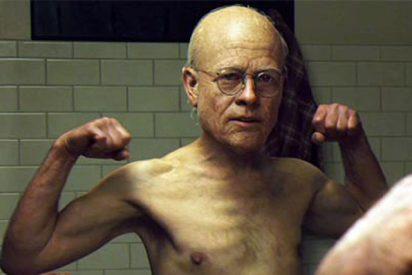 Brad Pitt muestra una decrépita versión de su vejez