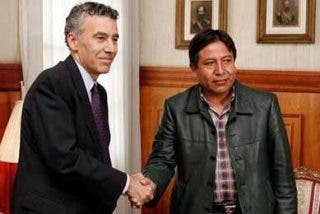 El canciller de Bolivia minimiza el llamado a consultas del embajador de EE.UU.