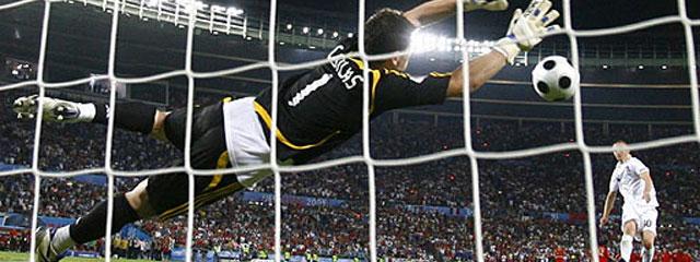 Los penaltis entre España e Italia marcan un récord de audiencias