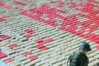 El Ejército colombiano decomisa 2,7 toneladas de cocaína