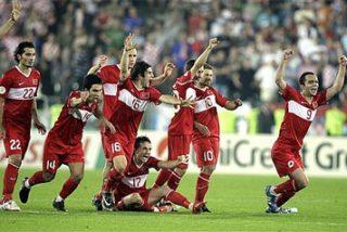 Turquía gana a Croacia por fe
