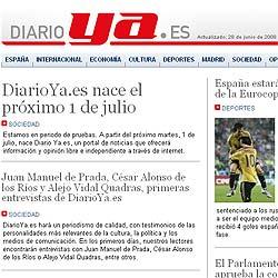 """El """"Diario Ya"""" resucita en internet"""