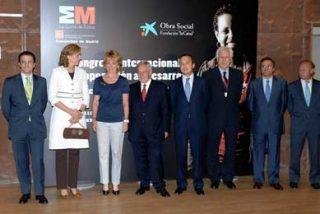 Esperanza Aguirre inaugura el I Congreso Internacional de Cooperación al Desarrollo