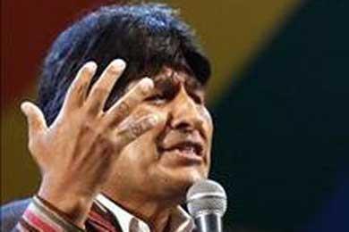 Evo Morales acusa a EEUU de golpe en Honduras