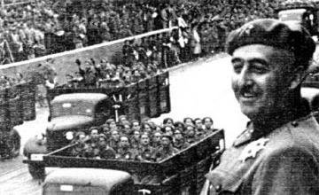 'Jakin Boor', el seudónimo de Franco en su libro secreto