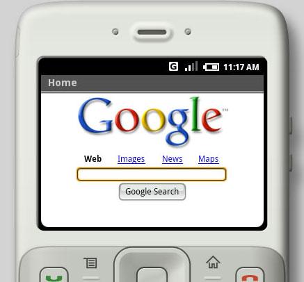 El móvil de Google se lanzará en el último trimestre del año