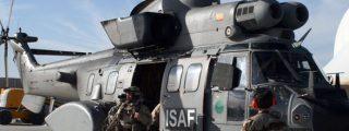 Fallecen dos militares españoles en un accidente de helicóptero en Bosnia