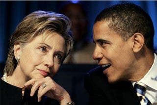 Obama y Clinton, juntos en New Hampshire