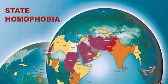 El mapa de la homofobia de Estado
