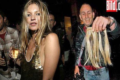 Las extensiones que Kate Moss a subasta
