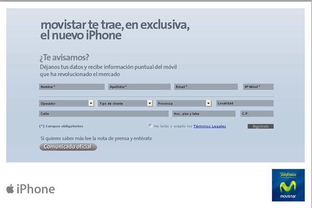 movistar.es/iphone