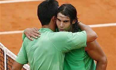 Nadal destroza a Almagro y espera a Djokovic en semifinales