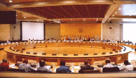 Una delegación del Parlamento Europeo visita la OAMI en Alicante