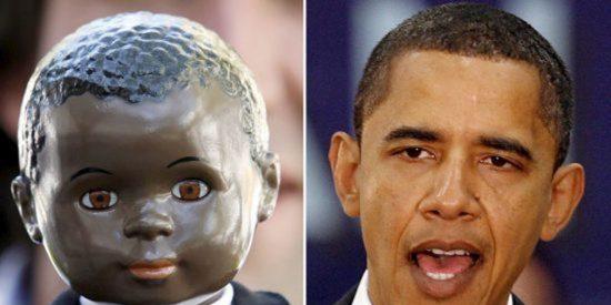 Una empresa alemana comercializa el muñeco de Obama