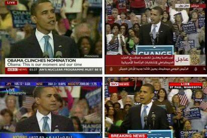 El final histórico de la 'telenovela' Obama vs Hillary tuvo una audiencia globalizada
