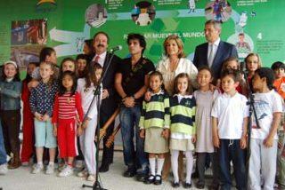 Pedro Suárez-Vértiz presentó en Madrid tema oficial de la Expo 2008 de Zaragoza