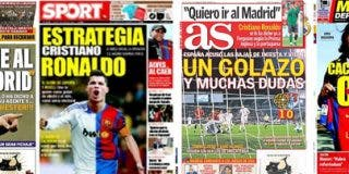 El Barça se une a la puja por Cristiano Ronaldo, según la prensa deportiva
