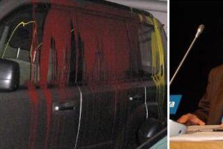 Nacionalistas gallegos atacan el coche del vicepresidente de Galicia Bilingüe