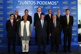 "César Alierta presentó Programa ""Proniño"""