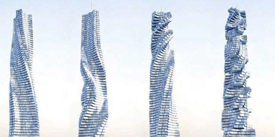 Dubai, Moscú y Nueva York construirán rascacielos giratorios