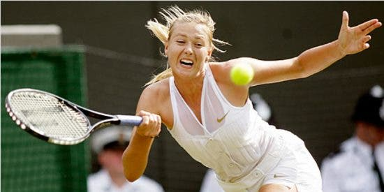 No decepcionó el modelito de Sharapova