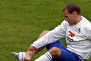 Sneijder abandona el entrenamiento cojeando