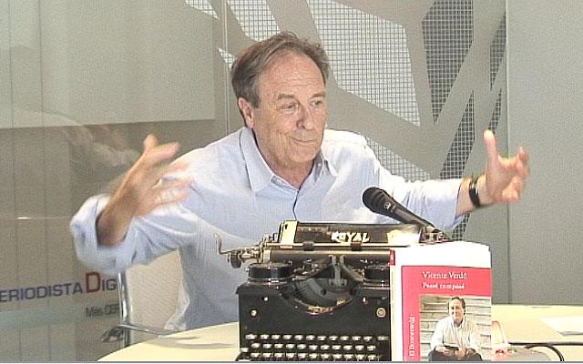 """Vicente Verdú: """"El periodismo es mi medio de vida, el blog es una escritura en medio de la vida"""""""