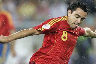 Xavi Hernández, mejor jugador de la Eurocopa
