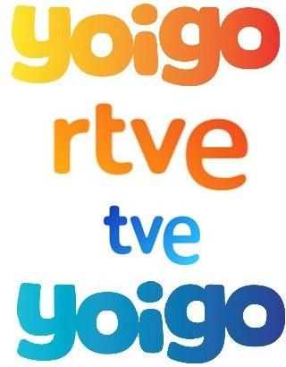 """RTVE presenta su nueva imagen corporativa calcando la de """"Yoigo"""""""