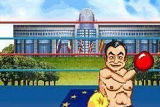 Zapatero y Bush se dan de tortas en un juego para móviles