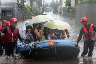 El tifón Kalmaegi causa 18 muertos en Taiwán