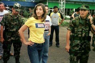 Los militares que liberaron a Betancourt utilizaron el logo de la televisión chavista