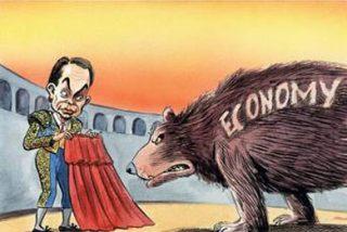 A Zapatero le pilla el toro de la recesión