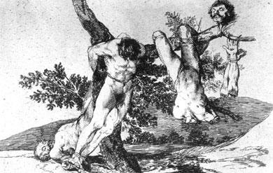 """'Goya en tiempos de Guerra' en el Prado, califica al español como """"maléfico"""""""