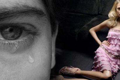 La mayoría de los hombres llora por amor