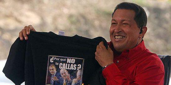 Hugo Chávez amenaza con nacionalizar la filial del Banco Santander en Venezuela
