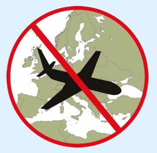 Lista negra de compañías aéreas prohibidas en la Unión Europea